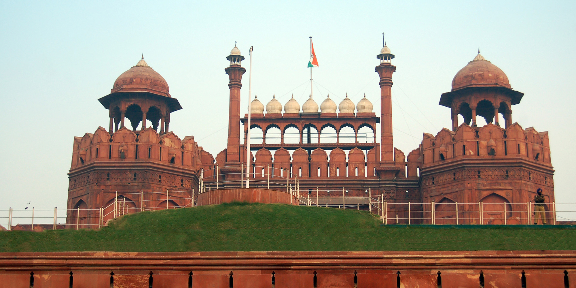 <strong>Red Fort, Delhi</strong> -