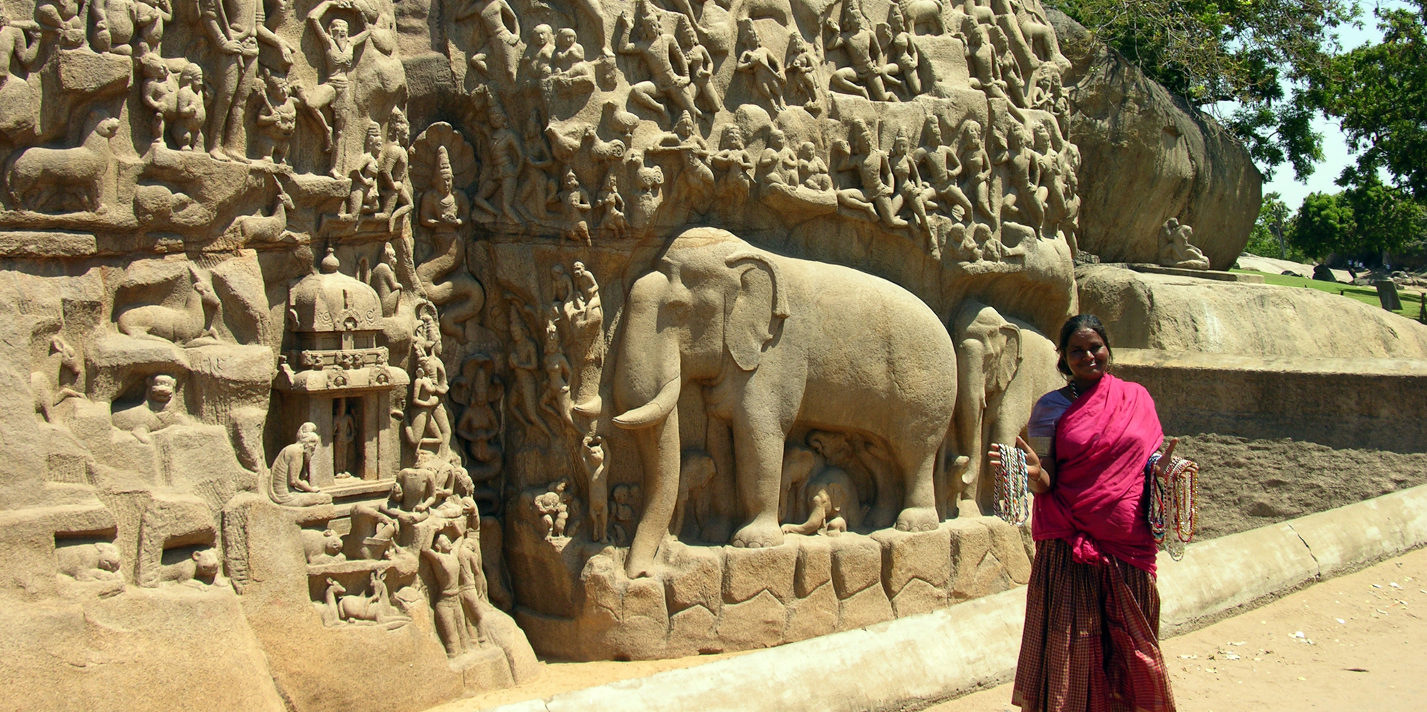 <strong>The five rathas - 2, Mahabalipuram</strong> -