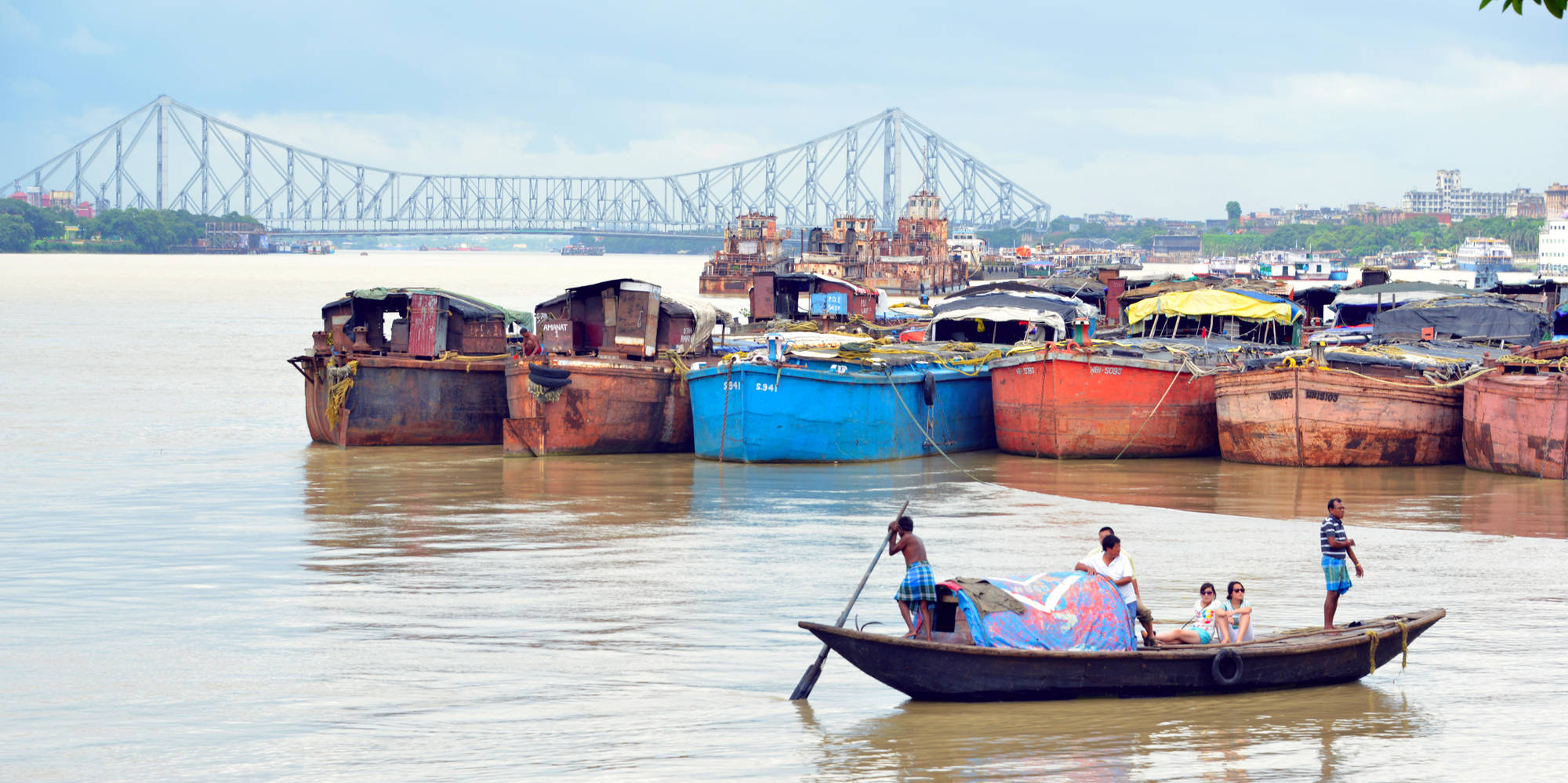 <strong>Howrah Bridge - 1, Kolkata</strong> -