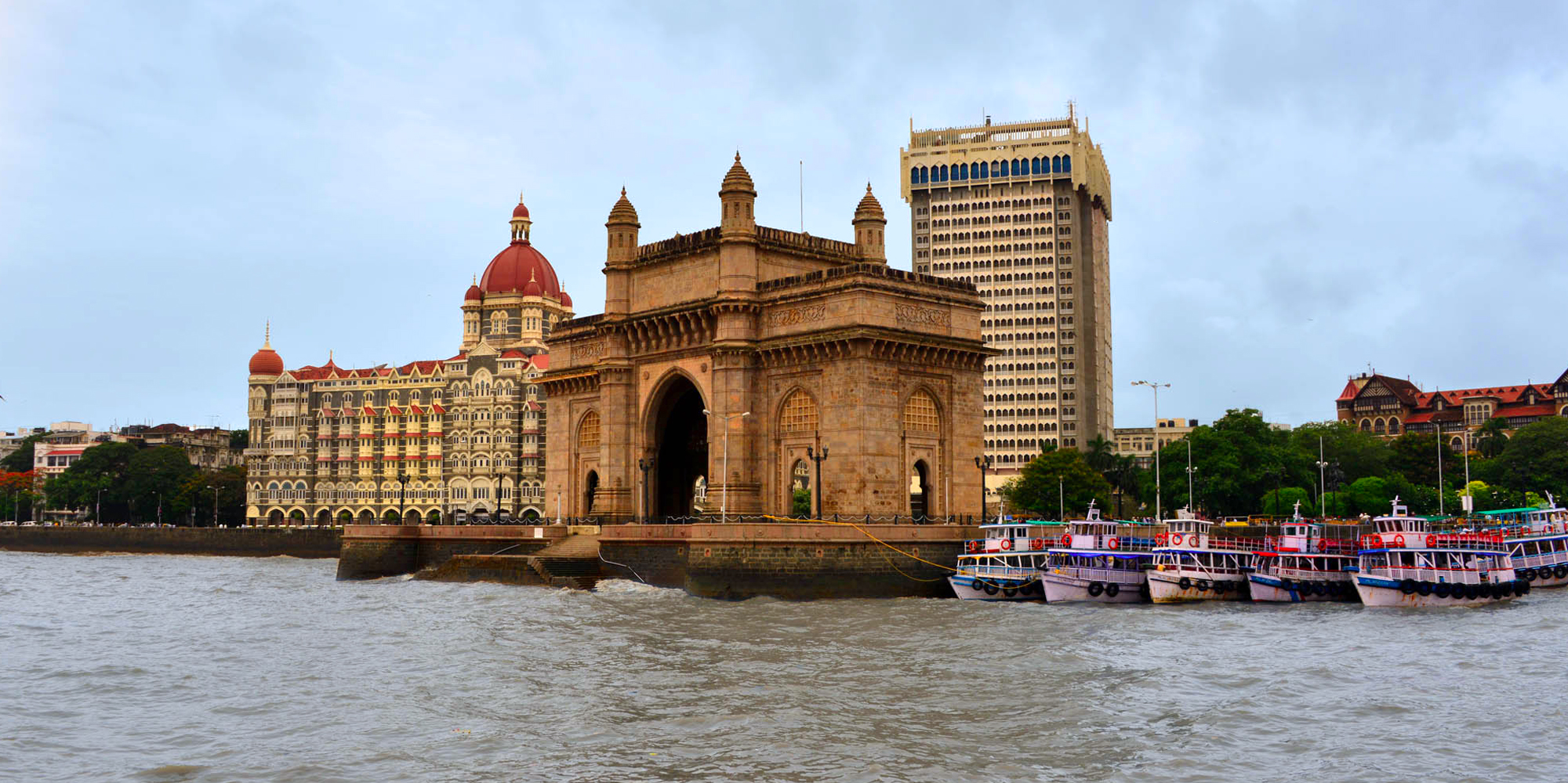 <strong>The Gateway of India </strong> - Mumbai