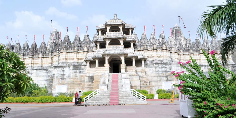 <strong>Ranakpur - 1</strong> - Front View of Jain Temple