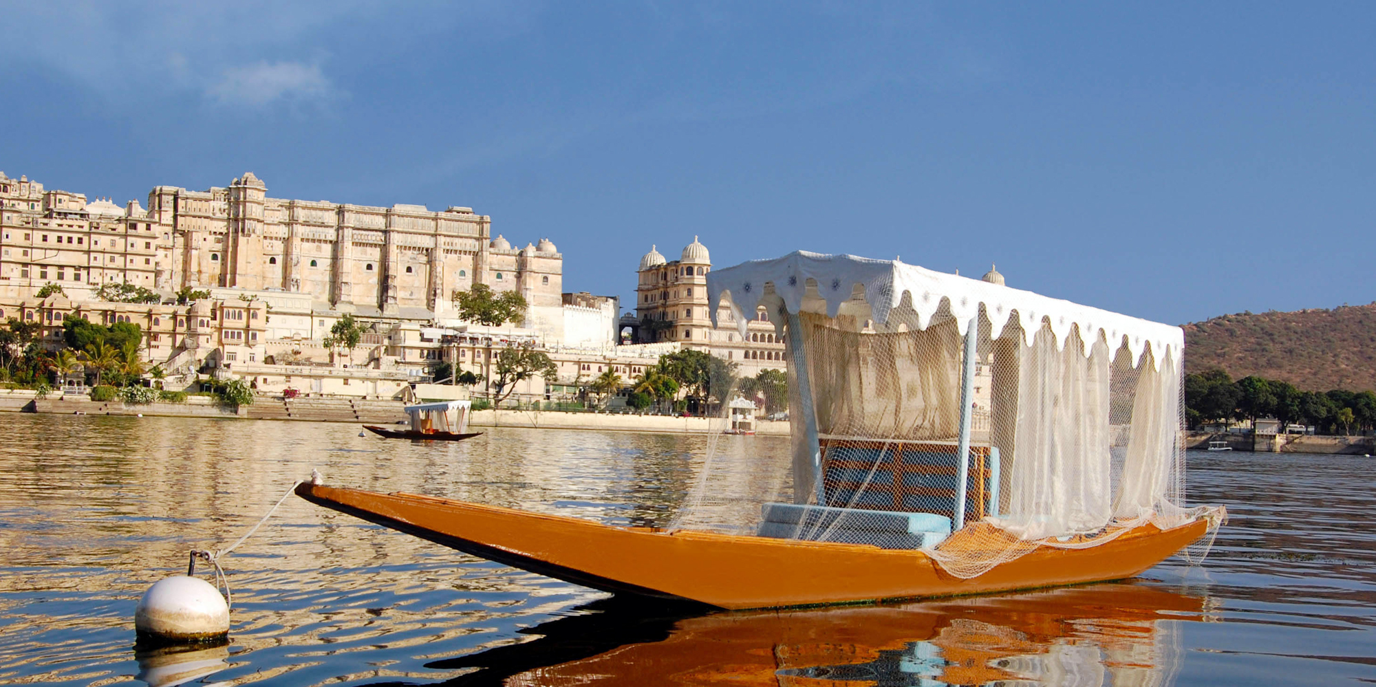 <strong>Lake Pichola, Udaipur</strong> -  Udaipur