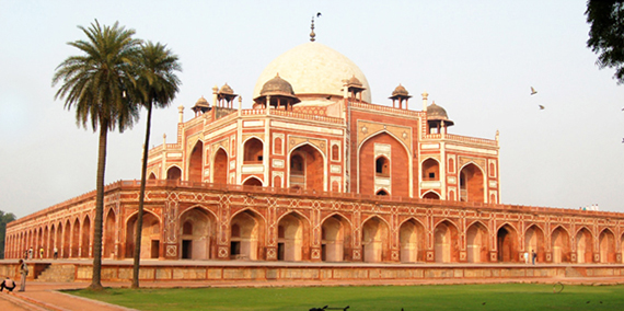 Humayun's Tomb is one of the three World Heritage Sites in Delhi protected by UNESCO