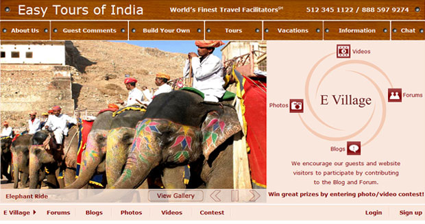 Easy Tours of India launches the eVillage!
