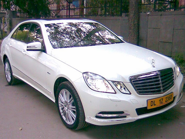 Ultra Luxury Vehicle - Mercedes E Class