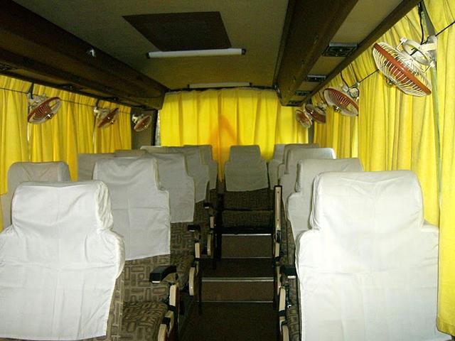 Luxury Mini Coach - DLX. 18 Seater Coach