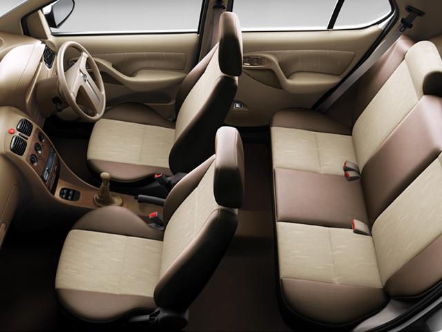 Medium Cars - Tata Indigo inside