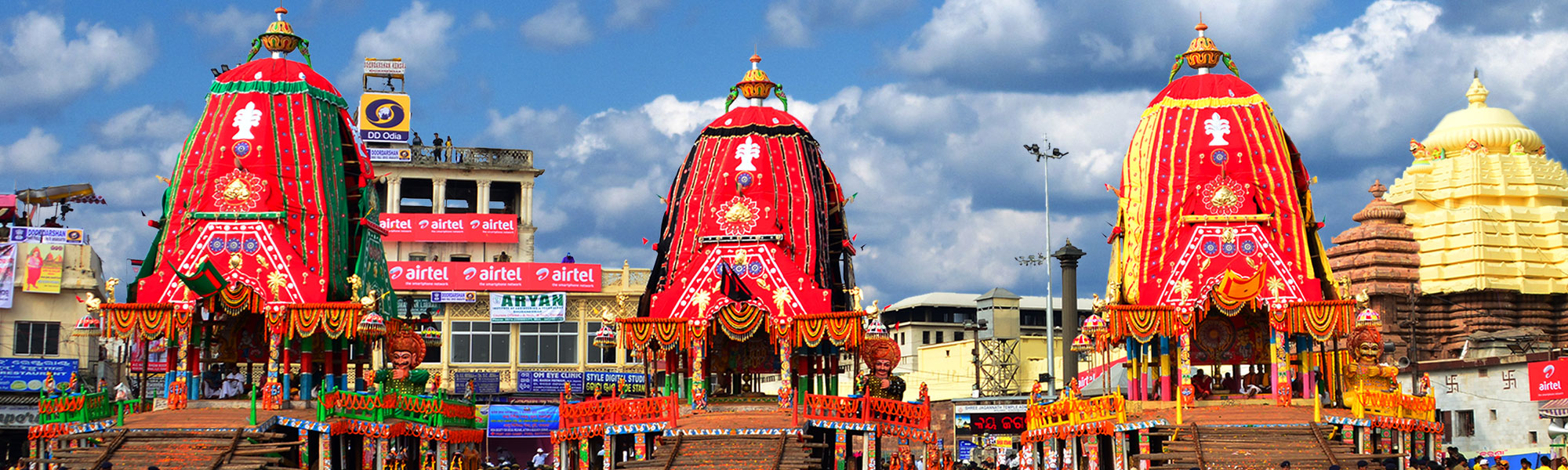 puri rath yatra One of the most amazing things about the puri rath yatra festival is the way the chariots are constructed find out the details in this article.