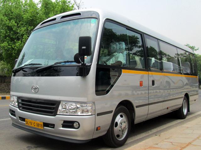 Luxury Mini Coach - Toyota Coaster