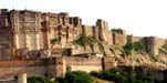 <strong>View of Mehrangarh Fort</strong> - Jodhpur