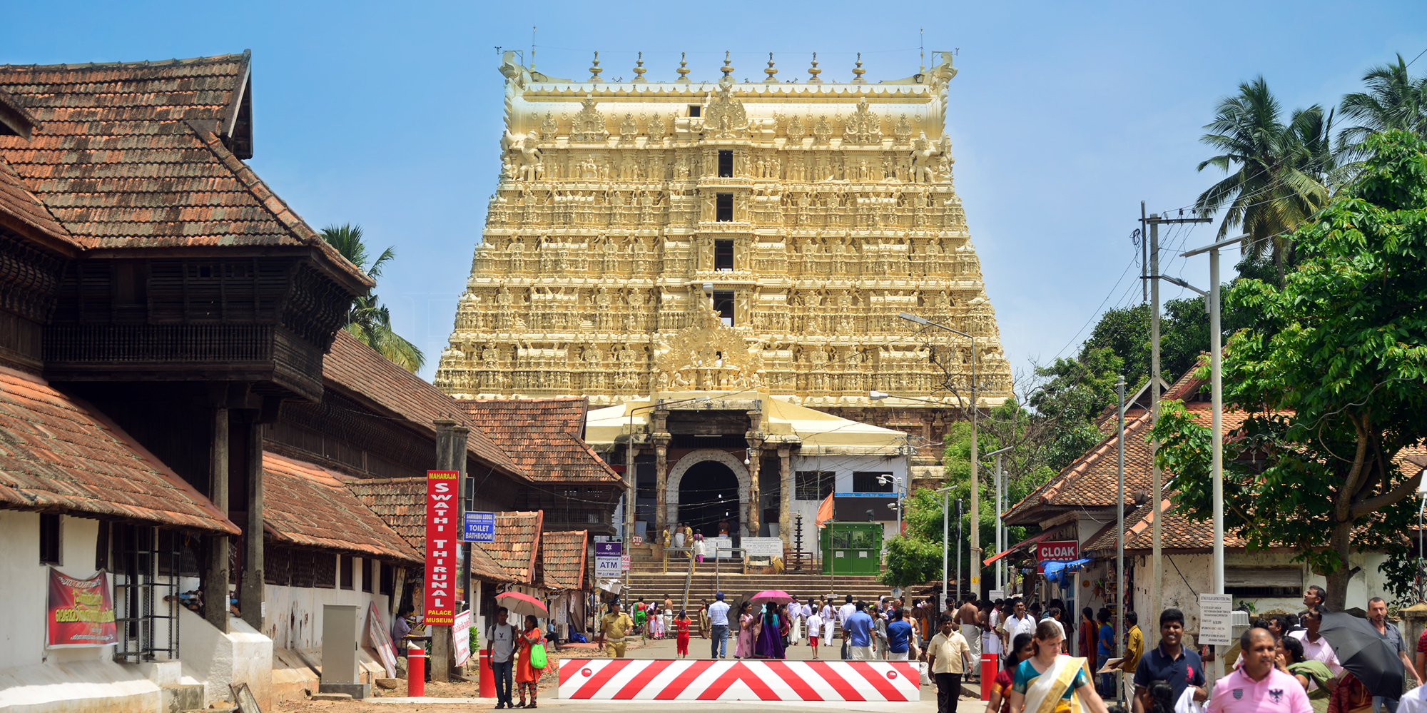 <strong>Padmanabhaswamy Temple</strong> -