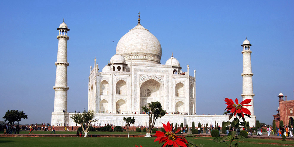 <strong>Agra</strong> - The Taj Mahal in Agra
