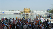 Golden Temple, Amristar - The Harmandir Sahib(The abode of God),informally known as the The Golden Temple.