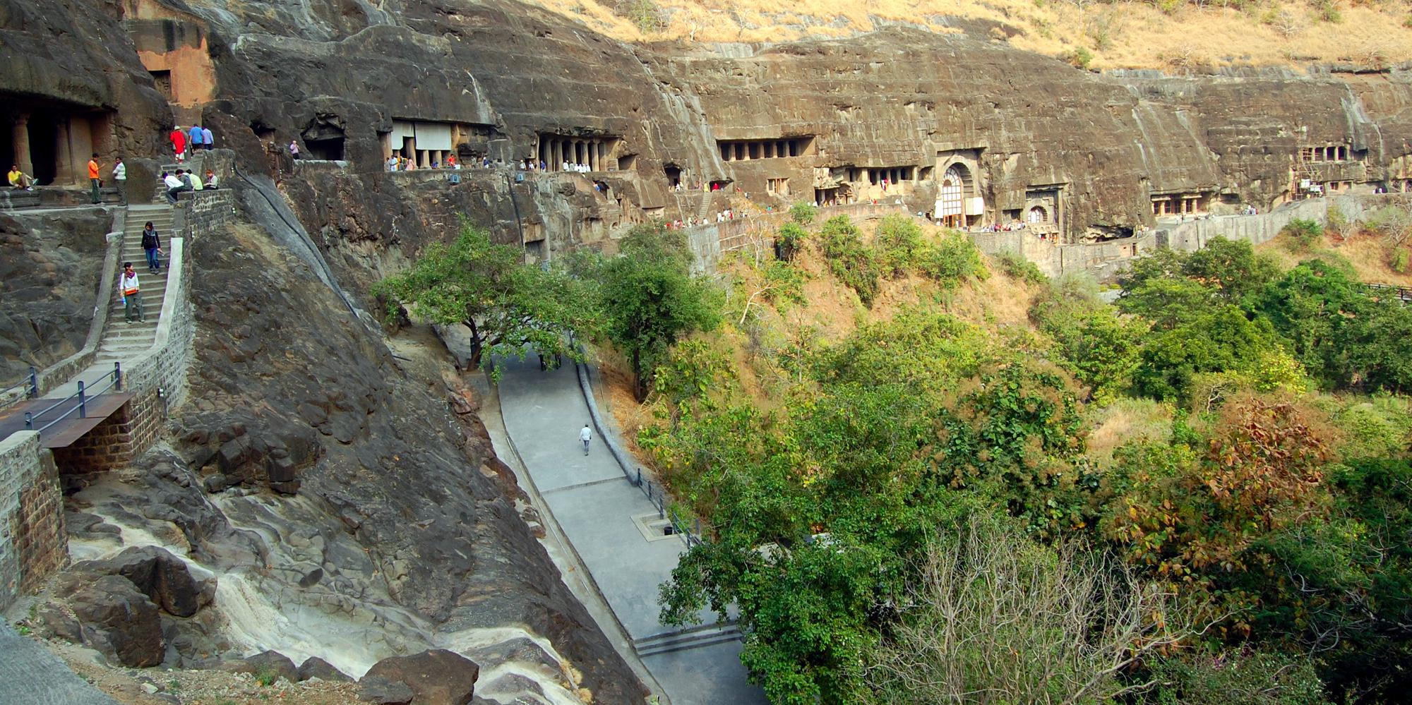 <strong>Ajanta Caves Aurangabad</strong> -