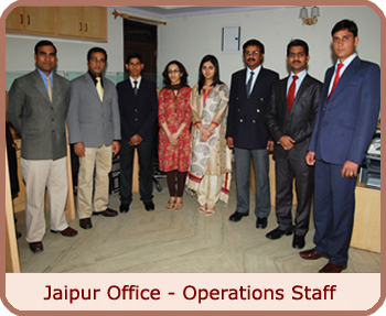 Jaipur Office - Operations Staff