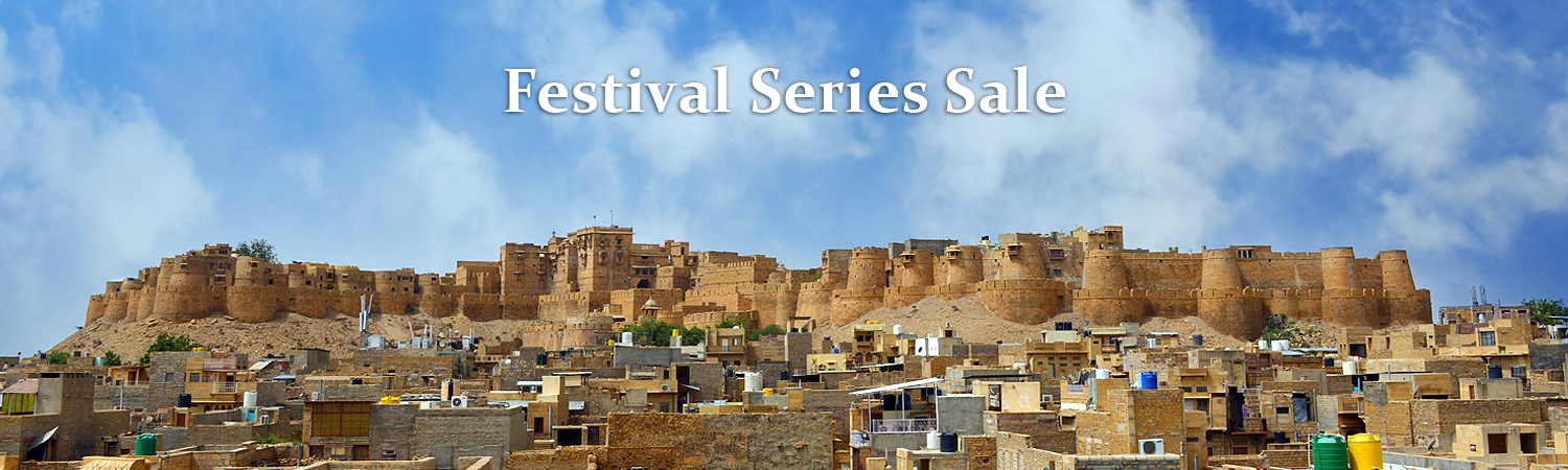 Golden Fort in Jaisalmer, India