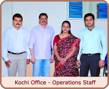 Kochi Office - Operations Staff