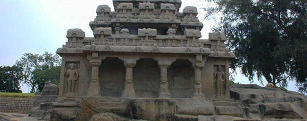 Group of Monuments at Mahabalipuram    ,