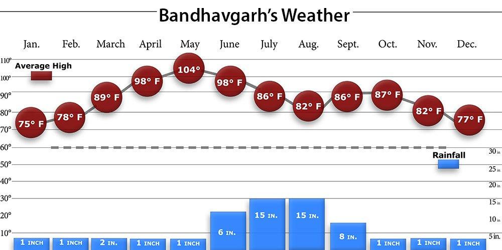 Bandhavgarh Weather
